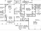 2100 Square Foot House Plans Country Style House Plan 3 Beds 3 00 Baths 2100 Sq Ft