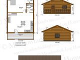 24 X Homes Plans 24 X 32 Log Home Plans