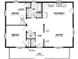 24 X Homes Plans Cottage Plans 24 X 30 Home Deco Plans