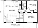 24×36 2 Story House Plans 24×36 House Floor Plans with Loft Pinteres