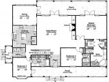2500 Sq Ft House Plans Single Story Floor Plans for 2500 Square Feet Home Deco Plans
