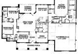 2500 Sq Ft House Plans Single Story Ranch House Plans Under 2500 Square Feet