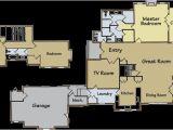 2500 Sq Ft Log Home Plans Best Floor Plan Over 2 500 Square Feet the Trailside