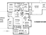 2500 Sq Ft Ranch Home Plans Craftsman Style House Plan 4 Beds 2 50 Baths 2500 Sq Ft
