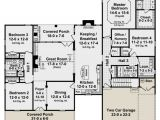 2500 Sqft 4 Bedroom House Plans Traditional Plan 2 500 Square Feet 4 Bedrooms 3