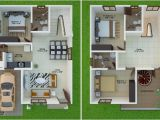 25×30 House Plans 15 Feet by 40 East Facing Beautiful Duplex Home Plan