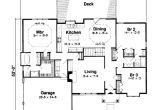 2700 Sq Ft House Plans Traditional Style House Plan 4 Beds 3 Baths 2700 Sq Ft