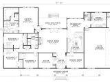 2800 Sq Foot House Plans Bhg 7886 Cherry Street Floor Plan Single Level at 2800 Sq