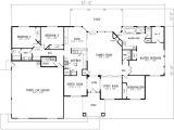 2800 Sq Foot House Plans Mediterranean Style House Plan 4 Beds 2 5 Baths 2800 Sq
