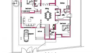 2800 Sq Ft House Plans Single Floor Modern House Plan 2800 Sq Ft Kerala Home Design and