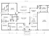 2800 Sq Ft Ranch House Plans Bhg 7886 Cherry Street Floor Plan Single Level at 2800 Sq