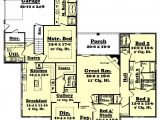 2800 Sq Ft Ranch House Plans southern Style House Plan 4 Beds 2 5 Baths 2800 Sq Ft