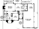 2800 Square Foot House Plans English Country House Plan 3 Bedrooms 2 Bath 2800 Sq