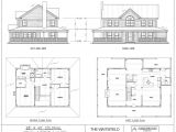 28×40 Colonial House Plans Post Beam House Plans and Timber Frame Drawing Packages
