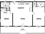 28×40 House Floor Plans Certified Homes Lincoln Style Certified Home Plans