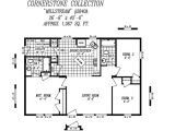 28×40 House Floor Plans Cornerstone Doubles Heritage Home Center Manufactured Homes