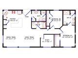 28×40 House Plans 1 Bedroom Cabin Floor Plan Joy Studio Design Gallery