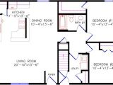 28×40 House Plans with Basement Cottage