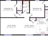 28×40 House Plans with Basement Floor Plan