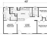 28×40 Ranch House Plans Home 24 X 40 3 Bedroom 2 Bath 933 Square Feet Little
