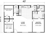 28×40 Two Bedroom House Plans Home 28 X 40 3 Bed 2 Bath 1066 Sq Ft Little House