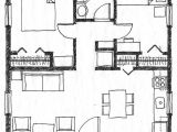 2bedroom House Plan Small Scale Homes 576 Square Foot Two Bedroom House Plans