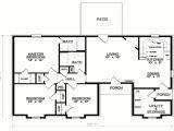 3 Bedroom Floor Plans Homes 3 Bedroom 1 Floor Plans Simple 3 Bedroom House Floor Plans