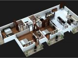 3 Bedroom Home Plan 3 Bedroom Apartment House Plans