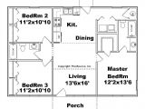 3 Bedroom Homes Floor Plans with Garage 3 Bedroom House Plans No Garage Beautiful Small House