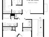 3 Bedroom Homes Floor Plans with Garage Cool Simple Three Bedroom House Plans New Home Plans Design