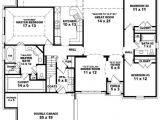 3 Bedroom Homes Floor Plans with Garage Simple House Plan with 3 Bedrooms and Garage House Floor