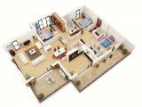3 Bedroom House Floor Plans with Pictures 25 More 3 Bedroom 3d Floor Plans