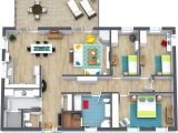 3 Bedroom House Floor Plans with Pictures 3 Bedroom Floor Plans Roomsketcher