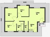 3 Bedroom House Floor Plans with Pictures Cheap 3 Bedroom House Plan 3 Bedroom House Plan south