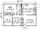 3 Bedroom House Plans Under 1000 Sq Ft 1000 Sq Foot House Plans 3 Bedroom 1000 Square Foot House