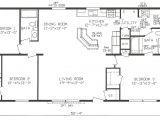 3 Bedroom Manufactured Homes Floor Plans Mobile Home Blueprints 3 Bedrooms Single Wide 71