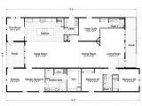 3 Bedroom Mobile Home Floor Plans Casita Iii Tdx4746c Home Floor Plan 4 Bedrooms 3 Baths