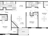 3 Bedroom Open Floor Plan Home House Plans for Pretentious Bedroom Home One Also 3 Open