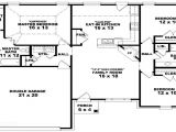 3 Bedroom Ranch Home Plans 3 Bedroom Ranch Floor Plans 3 Bedroom One Story House