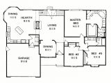 3 Bedroom Ranch Home Plans 3 Bedroom Ranch House Floor Plans Archives New Home