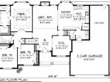 3 Bedroom Ranch Home Plans Plan Ranch Floor Plans House House Plans 85851