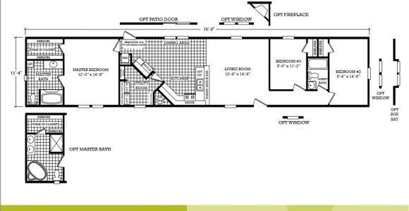 3 Bedroom Single Wide Mobile Home Floor Plans Scotbilt Mobile Home Floor Plans Singelwide Single Wide