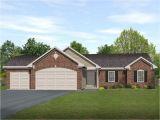3 Car Garage Home Plans Ranch Living with Three Car Garage 22006sl