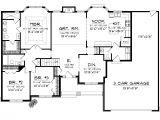 3 Car Tandem Garage House Plans Ranch House Plans with 3 Car Tandem Garage Home Desain 2018