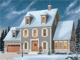 3 Story Colonial House Plans Colonial Style House Plans 2786 Square Foot Home 3 Story
