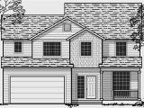 3 Story House Plans Small Lot Sloping Lot House Plans Hillside House Plans Daylight