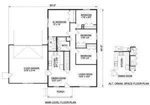 300 Sq Ft Home Plans 300 Sq Ft House Plan House Design Plans