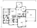 3000 Sq Ft 1 1/2 Story House Plans Craftsman Style House Plan 3 Beds 2 5 Baths 3000 Sq Ft