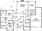 3000 Sq Ft 1 1/2 Story House Plans Ranch Style House Plan 4 Beds 3 00 Baths 3000 Sq Ft Plan