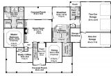 3000 Sq Ft Home Plan Country Style House Plan 4 Beds 3 50 Baths 3000 Sq Ft